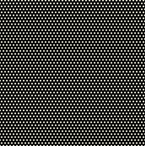 Black and Ivory Mini Dot Rev Paper