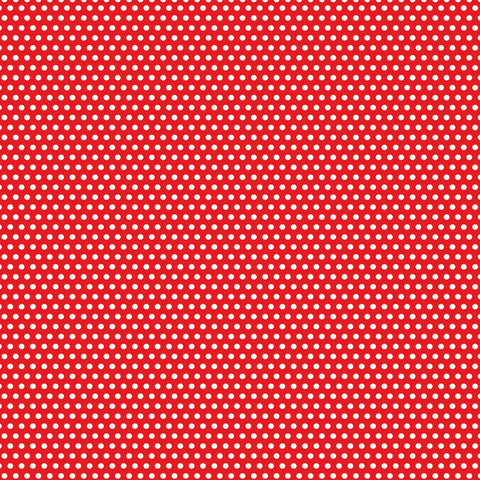 Red and White Mini Dot Rev Paper