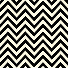 Black & Ivory Chevron Paper