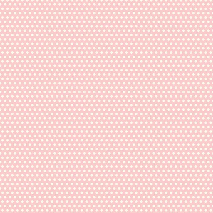 Pink and Ivory Mini Dot Rev Paper