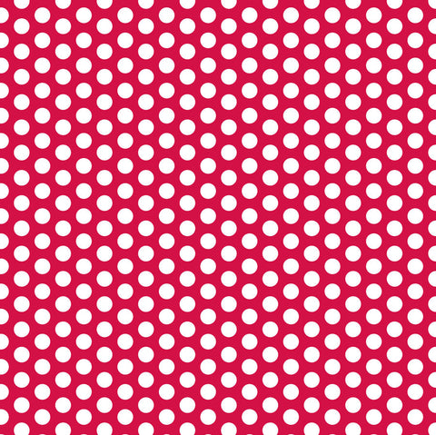 Red and White Dot Rev Paper