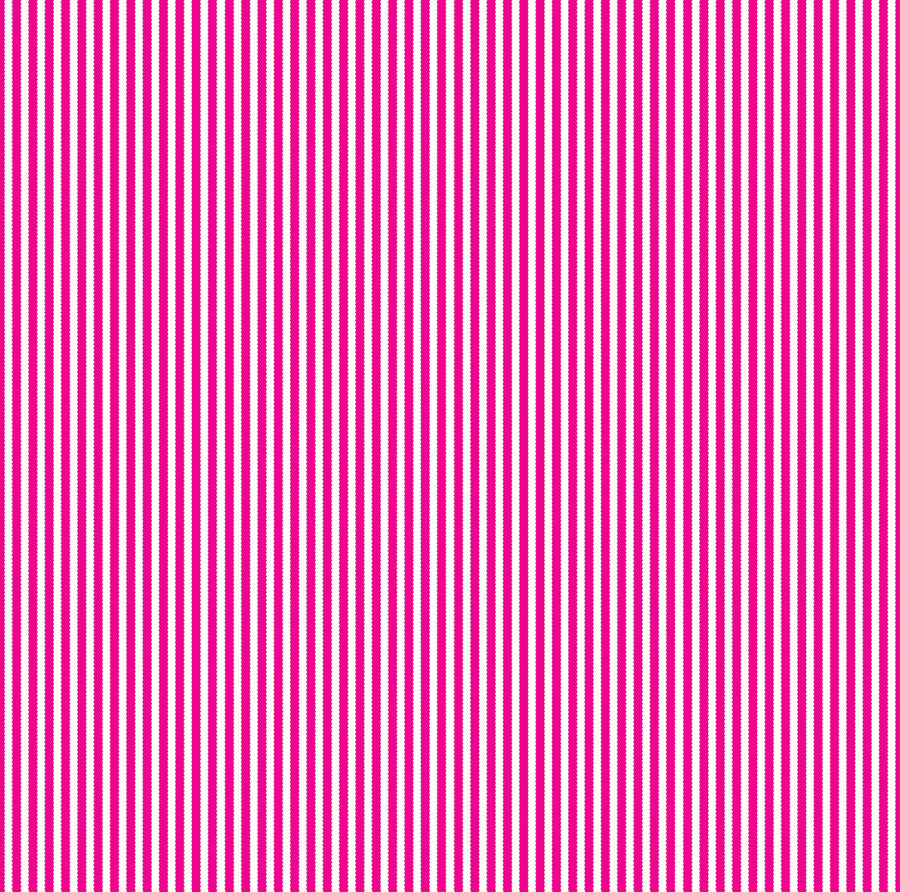 Hot Pink & White Ribbon Stripe Paper