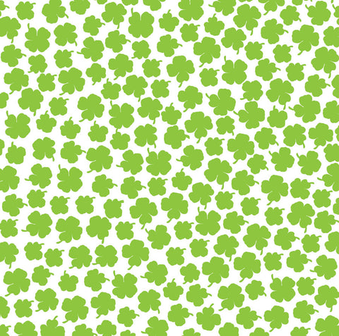 Lime Green & White Clover