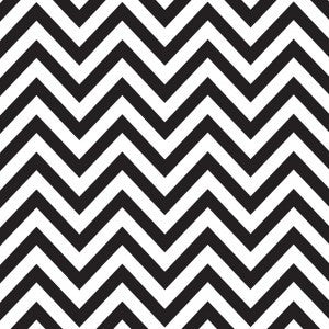 Black  & White Chevron
