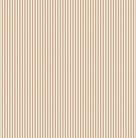 Tan and Ivory Ribbon Stripe Paper
