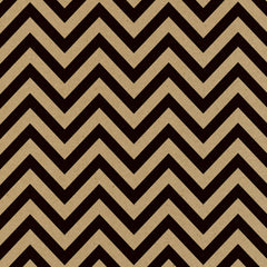 Black and Kraft Chevron Paper