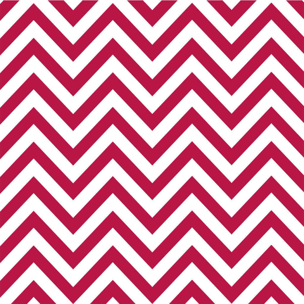 Red and White Chevron Paper