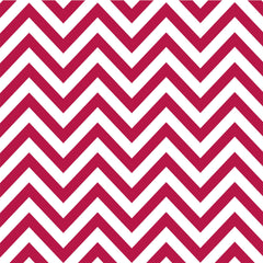 Red & White Chevron Paper