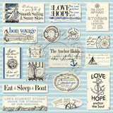 Canvas Corp Smooth Sailing Nautical Paper Collection
