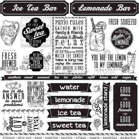 Mixology: Lemonade & Sweet Ice Tea Sayings