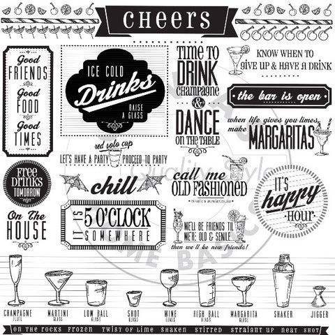 Mixology: Happy Hour Sayings