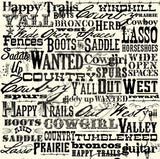 Canvas Corp Cowboy Spirit Western Paper Collection