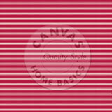 Red & Ivory Ticking Paper