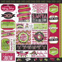 Jolly Christmas Sayings Paper
