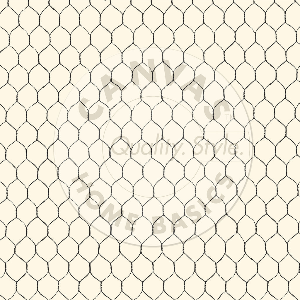 Black and Ivory Chicken Wire Paper