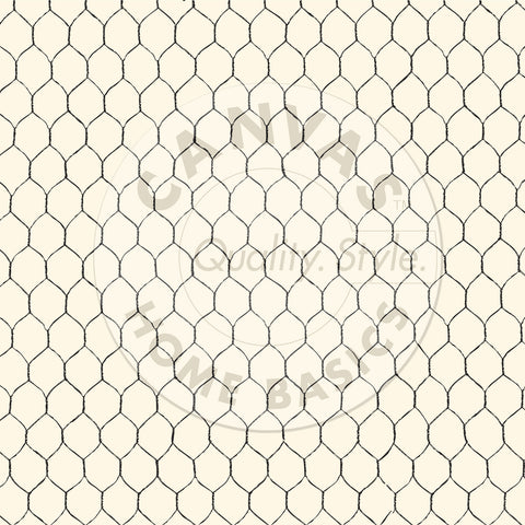 Black & Ivory Chicken Wire