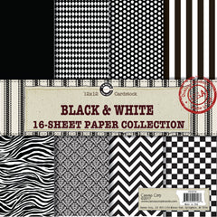 Canvas Corp Black and White Paper Collection