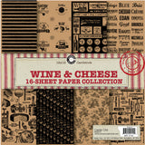 Canvas Corp Wine and Cheese Paper Collection