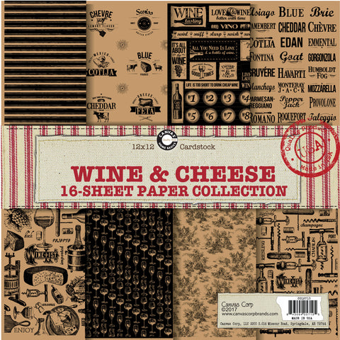 Wine and Cheese Paper Collection