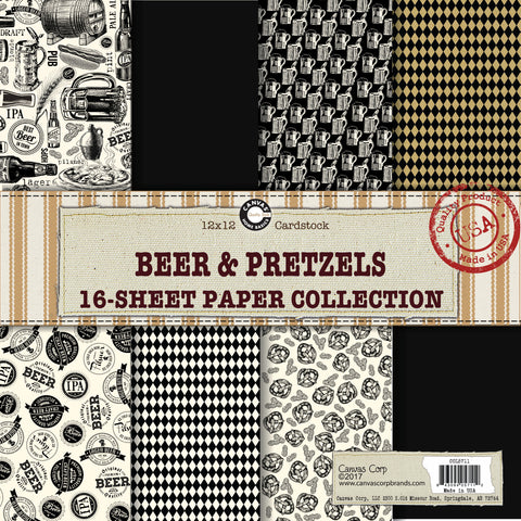 Beer and Pretzels Paper Collection