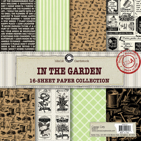 In The Garden Paper Collection