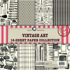 Vintage Art Paper Collection