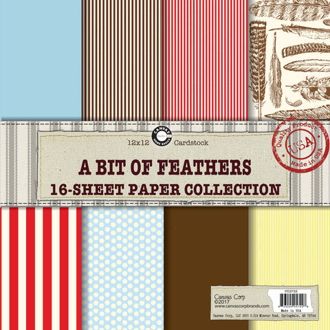 Canvas Corp A Bit of Feathers Paper Collection