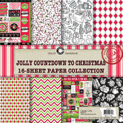 Canvas Corp Jolly Countdown to Christmas Paper Collection