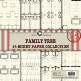 Canvas Corp Family Tree Paper Collection