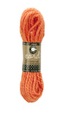 Cord- Hemp Rope Hank - Orange - 45'