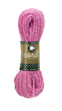 Cord - Hemp Rope Hank - Hot Pink - 45'