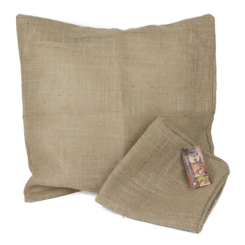Burlap Pillow Square Available In 6 Sizes 1320llc
