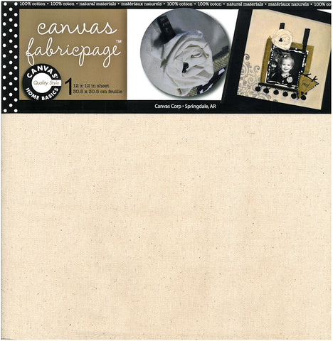 Canvas Fabricpage - 12x12
