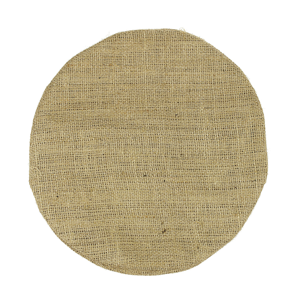 Burlap Pillow - Round (available in 4 sizes)