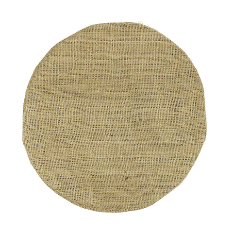 Burlap Pillow - Round (available in 2 sizes)