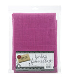 "Burlap Fabric - 30""x36"" - Hot Pink"