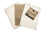 Fabric Postcard Canvas & Burlap Postcards (pack of 3)