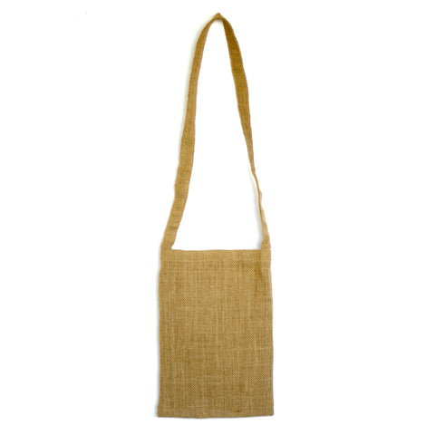 Burlap Bag - Burlap Shoulder Bag