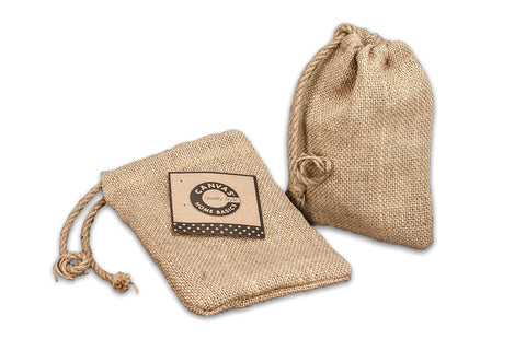 Burlap Bag - Burlap Drawstring Sac
