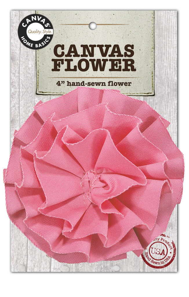 Canvas Flower - Light Pink