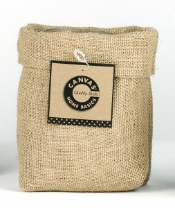 Saggy Baggy - Fabric Basket - Burlap - 3 sizes available