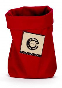 Saggy Baggy - Fabric Basket - Red (Available in 3 sizes)