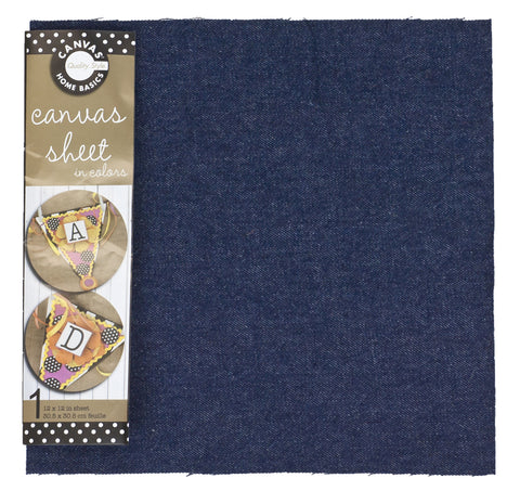12x12 Fabric Sheet - Denim