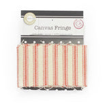 Canvas Ticking Fringe
