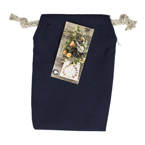 Canvas Bag - Double Drawstring Bags