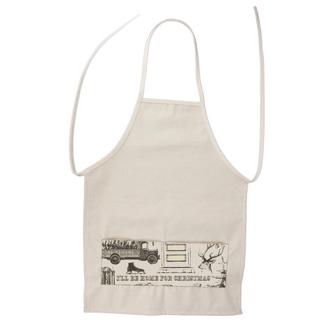 Apron- Child-Size - Farmhouse Christmas