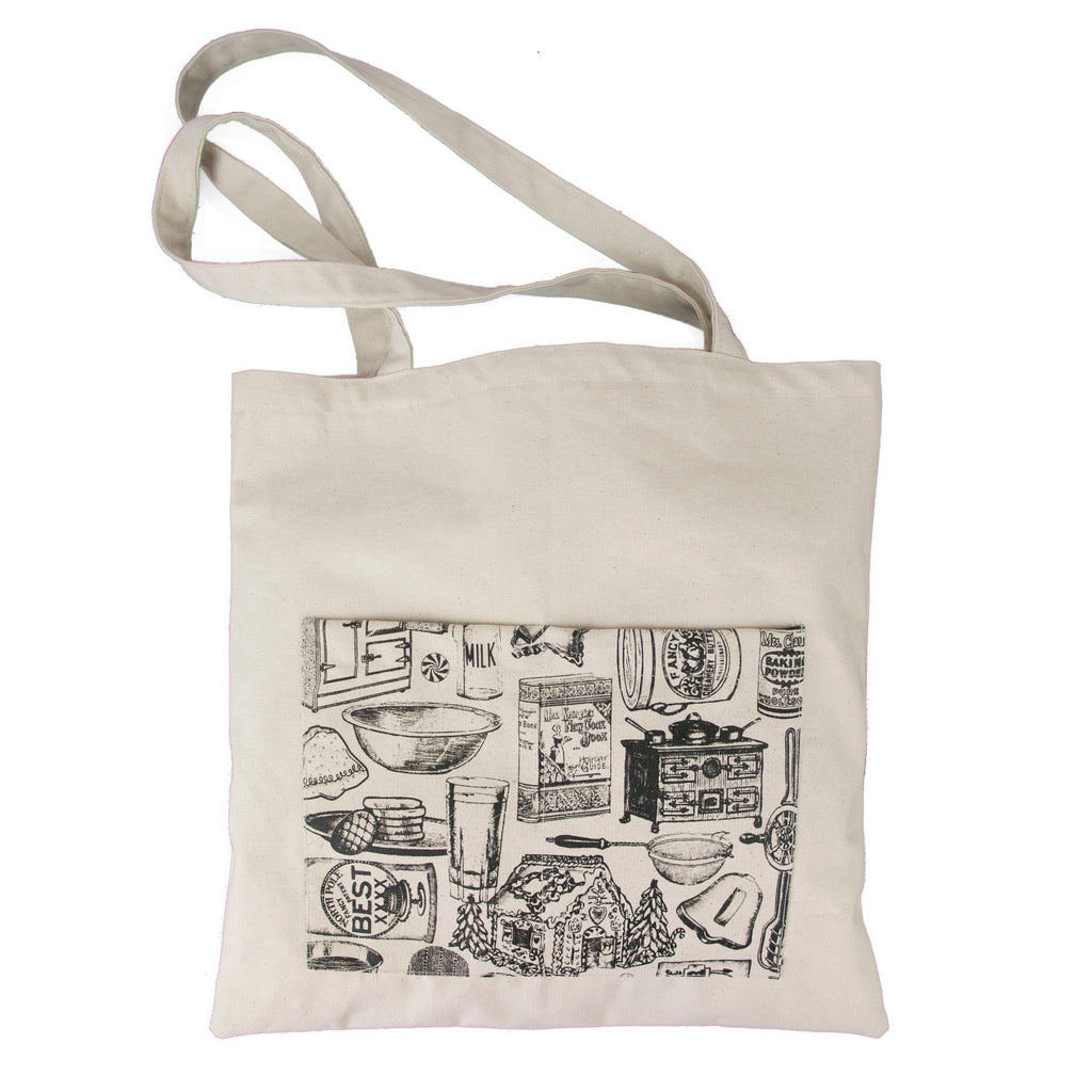 Canvas Tote Bag - Holiday Baking