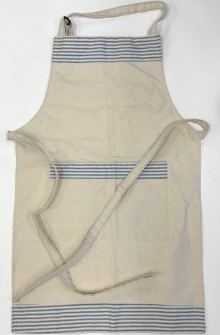 Apron - Ticking and Canvas