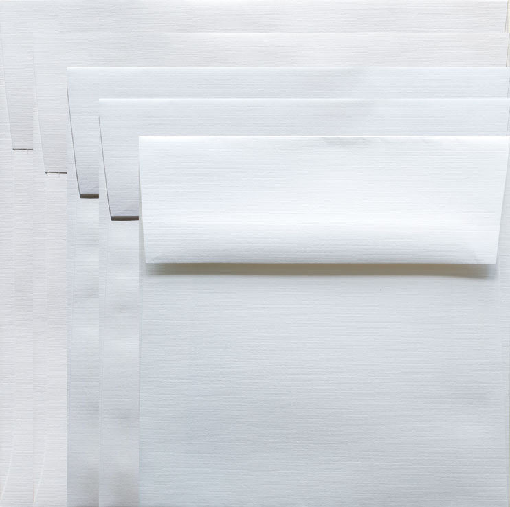 Envelopes 6x6 - White