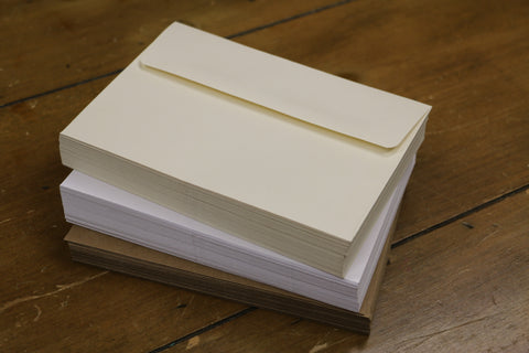 Bulk Envelope Packs - Ivory